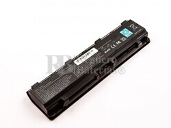 Batería compatible Toshiba Satellite L830 series, Li-ion, 10,8V, 5200mAh, 56,2Wh, Negro