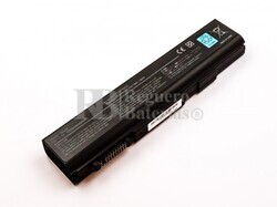 Batería compatible Toshiba Satellite S500 series, Li-ion, 11,1V, 5200mAh, 57,7Wh, Negro