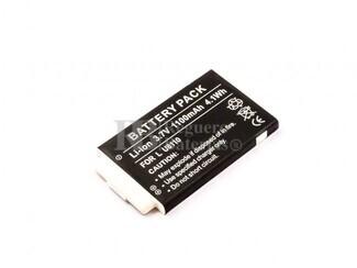 Bateria U8110, para telefonos LG Li-ion, 3,7V, 1100mAh, 4,1Wh