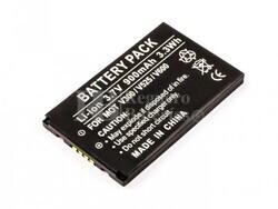 Bateria V300, V525, V600, para telefonos MOTOROLA, Li-ion, 3,7V, 900mAh, 3,3Wh