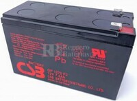 Batería Csb GP1272 F2 12 Voltios 7,2 Amperios
