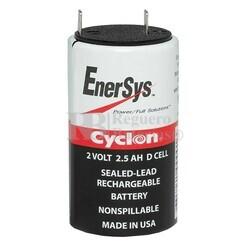 Batería Cyclon 2 Voltios 2,5 Amperios 0810-0004