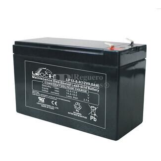 Bateria de AGM LEOCH 12 Voltios 9 Amperios LP12-9.0 (151x65x95mm)
