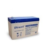 Batería de Agm Ultracell 12 Voltios 5 Amperios  151mm x 53mm x 93mm