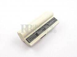 Bateria de color blanco larga duracion para ordenador Asus EEE PC 1000, EEE PC 1200 SERIE, EEE PC 901..AL23-901