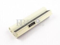 Bateria de color blanco para Ordenador Asus EEE PC 701SD, EEE PC 701SDX, EEE PC 900HD, EEE PC 900HA, EEE PC 900A