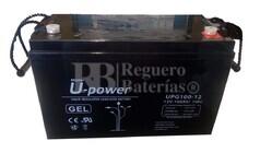 Batería de GEL 12 Voltios 100 Amperios U-Power UPG12-100