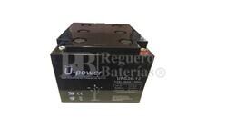 Batería de Gel 12 Voltios 26 Amperios U-Power UPG26-12