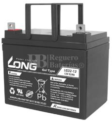 Batería Gel 12 Voltios 32 Amperios Long LG32-12