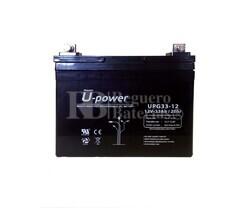 Batería Gel 12 Voltios 33 Amperios U-Power UPG33-12