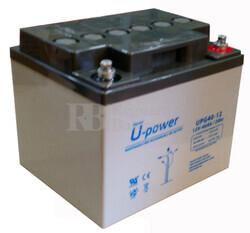 Batería Gel 12 Voltios 40 Amperios U-power UPG40-12