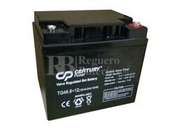 Batería de Gel 12 Voltios 50 Amperios (C20) CENTURY TG46.6-12