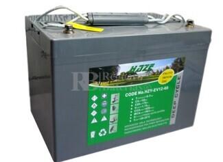 Batería Gel 12 Voltios 60 Amperios Haze HZY-EV12-60