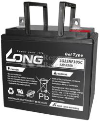 Batería Gel 12 Voltios 62 Amperios Long LG22NF305