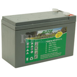 Batería de Gel 12 Voltios 7,5 Amperios HAZE HZY-EV12-7.5