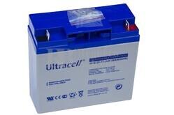 Batería de Gel 12 Voltios 22 Amperios ULTRACELL  UCG22-12
