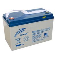 Batería de Gel 12 Voltios 100 Amperios RITAR DG12-100