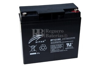 Batería de Gel 12 Voltios 18 Amperios RITAR DG12-18