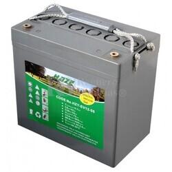 Batería de Gel 12 Voltios 55 Amperios HAZE HZY-EV12-55
