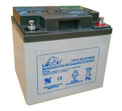 Bateria de GEL LEOCH 12 Voltios 40 Amperios LPG12-40 ( 197x165x170)