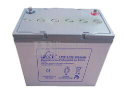 Batería de GEL 12 Voltios 55 Amperios  LEOCH LPG12-55