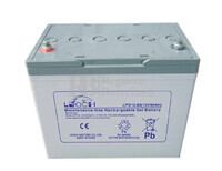 Batería Gel 12 Voltios 80 Amperios Leoch LPG12-80
