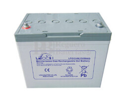 Batería de GEL 12 Voltios 80 Amperios LEOCH LPG12-80