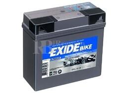 Batería de Gel para Moto EXIDE 12 Voltios 19 Amperios G19 185mm x 80mm x 17mm
