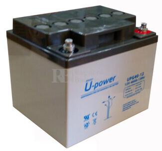 Bater�a de Gel para Silla de Ruedas El�ctrica en 12 Voltios 40 Amperios MU-UPG40-12