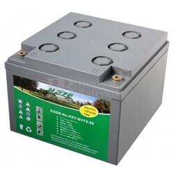 Batería Gel Silla Movilidad 12 Voltios 26 Amperios EV12-26