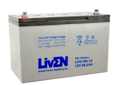 Bateria de Gel puro 12 Voltios 100 Amperios LVG100-12 (330x173x218)