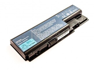 Batería de larga duración para Acer ASPIRE 7520-6A1G08MI, ASPIRE 7520-5823, ASPIRE 7520-5618, ASPIRE 7520-5115