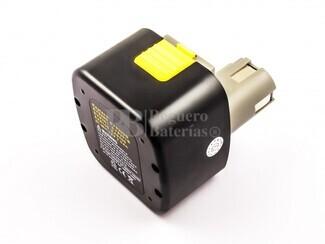 Bateria de larga duracion para maquinas Panasonic 12 Voltios 3 Amperios, EY9101, EY9200B, EY9108, EY9201, EY9001, EY9200, EY9201B