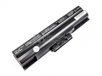 51146 Bateria de larga duracion para ordenador Sony Vaio VGP-BPS13-Q, VGP-BPS13A-Q, VGP-BPS13B, VGP-BPS21, VGP-BPS13, VGP-BPS13A, VGP-BPS13B-B,...