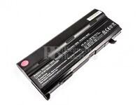 Batería de larga duración para Toshiba PA3399U-2BRS, PA3400U-1BRS, PABAS057, PA3399U-1BRS, PA3400U-1BAS, PA3478U-1BAS
