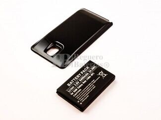 Batería de larga duracion para Samsung Galaxy Note 3, Galaxy Note III, B800BE, B800BU 3,8V 6.400 mah