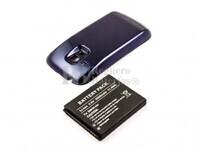 Batería EB-FIM7FLU de larga duración con carcasa color azul para Samsung Galaxy S3 Mini