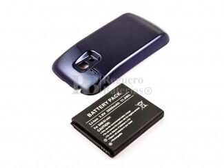 Batería de larga duración con carcasa color azul para Samsung Galaxy S3 Mini, GT-I8190