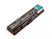 Batería de larga duración para Toshiba PA3533U-1BAS, PA3533U-1BRS, PA3534U-1BAS, PA3534U-1BRS, PABAS097, PABAS098, PABAS173, PABAS174, TS-A200