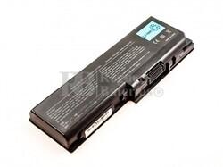 Batería de larga duración para Toshiba Satellite Pro P200,P205, P300, X200, L350, L355, PA3537U-1BAS, PABAS101, PA3537U-1BRS, PA3536U-1BRS, PABAS100