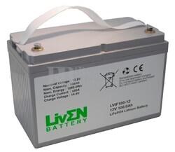 Batería de Litio 12 Voltios 100 Amperios