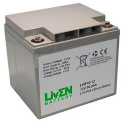 Batería de Litio 12 Voltios 40 Amperios