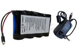 Batería de Litio Ferroso 12.8 Voltios 5.5 Amperios con cargador