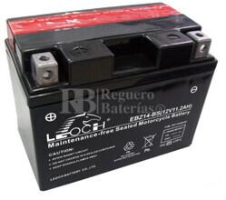 Batería de Moto 12 Voltios 11,2 amperios EBZ14-BS