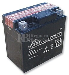 Batería de Moto 12 Voltios 4 amperios YTX5L-BS, LTX5L-BS, GTX5L-BS