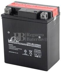 Batería de Moto 12 Voltios 6 amperios LTX7L-BS ,YTX7L-BS, GTX7L-BS