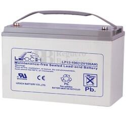 Batería de Plomo 12 Voltios 100 Amperios LEOCH LP12-100
