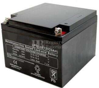 Batería 12 Voltios 26 Amperios Leoch LP12-26