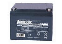Batería 12 Voltios 26 Amperios Sunmatic SUNL12-26
