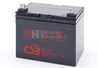 Batería de Plomo 12 Voltios 34 Amperios Csb GP12340